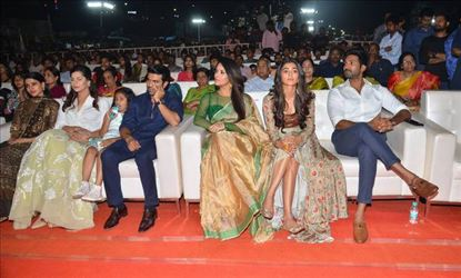 Rangasthalam Movie Pre Release Function Photos