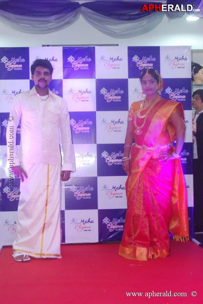 Simran at maha elegance family salon opening for 16 image the family salon