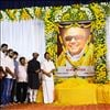 Superstar Rajinikanth Pays Homage To Kalaignar Karunanidhi With Memorial Gathering Photos