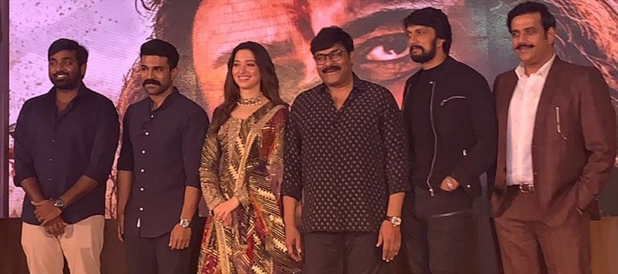 Sye Raa Teaser Launch Stills Set 1