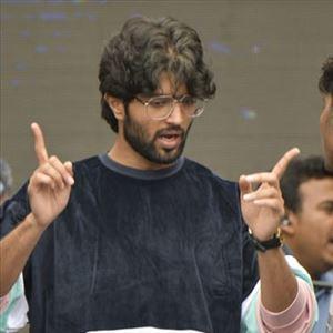 Vijay Devarakonda at Rowdy Brand Launch Photos