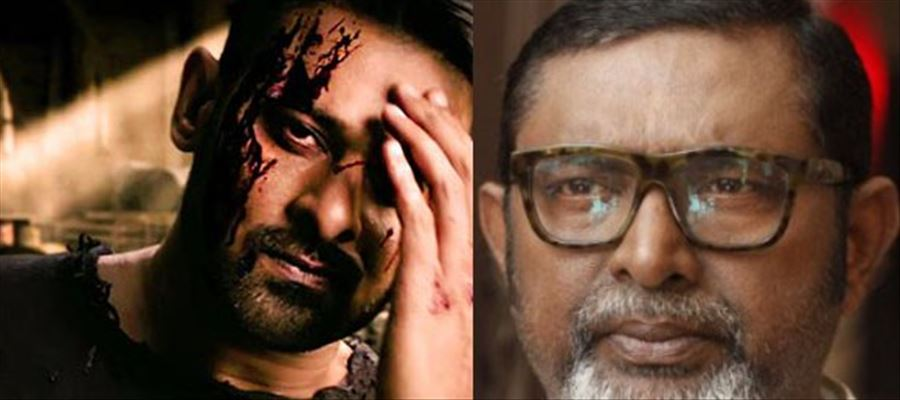 It is not Mohanlal but another actor in Prabhas Saaho