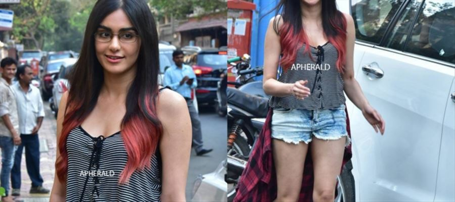 Adah Sharma Dressed like 'This' in Public before Everyone - HOT Photos Inside