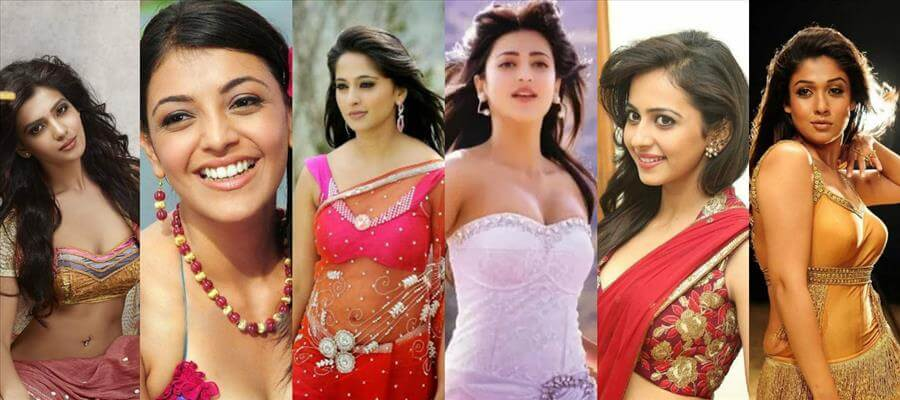 Sexy, Glamorous Tollywood Actresses in BIKINI Costume