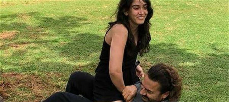 Even though you are a father, you shouldn't do such things with daughter Aamir Khan... Fans lash out !!