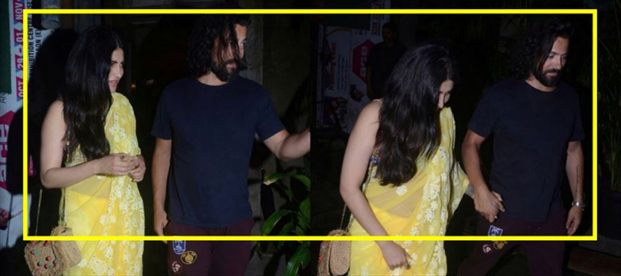 Shruti spotted with Corsale - See Pics!