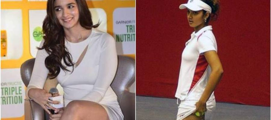 When Alia Bhatt can, Why not Sania Mirza ??