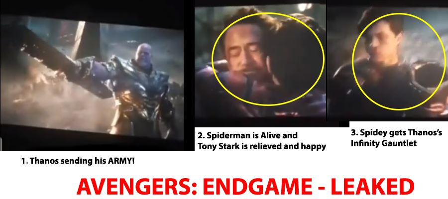 AVENGERS: ENDGAME MOVIE LEAKED - IRON MAN ALIVE and OTHER SPOILERS INSIDE