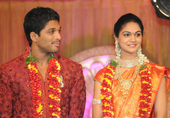 Allu Arjun couple blessed with a baby boy