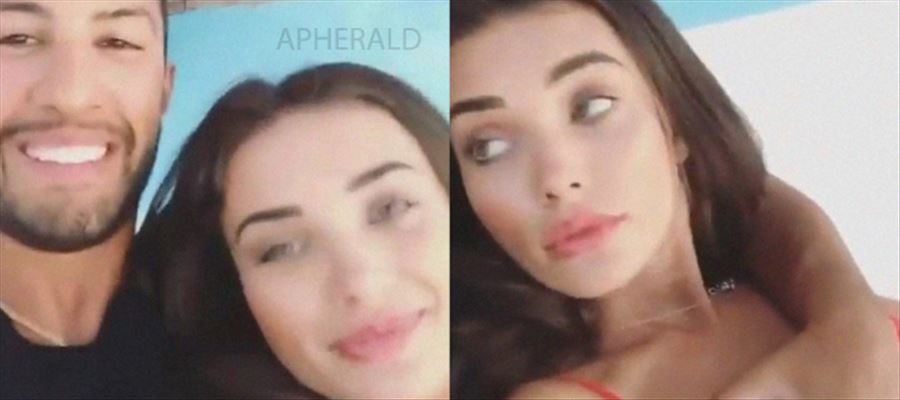 Oops... Amy Jackson Boyfriend Touches her Inappropriately and uploads video on Instagram - Photos Inside