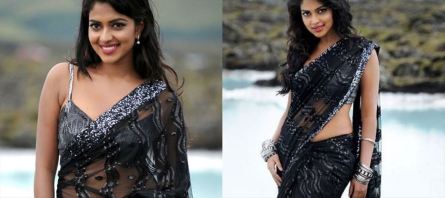 Amala Paul breaks her hand!