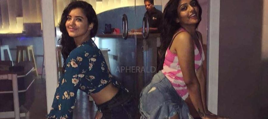 The 19-Year-Old Actress Poses Seductively with 28-Year-Old Dusky Actress in 'SUCH A WAY'... PHOTO PROOF Inside