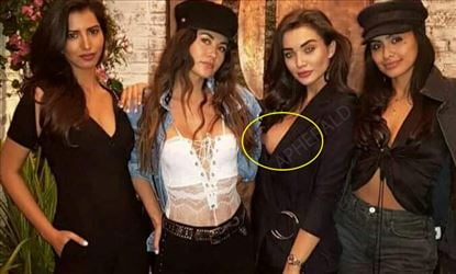 An Accidental Slip of the nip for Amy - SHOCKING PHOTO PROOF
