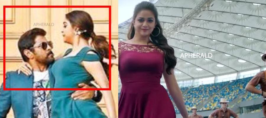 Keerthy Suresh's Awkward Poses captured at Wrong moments - 19 Photos to prove it