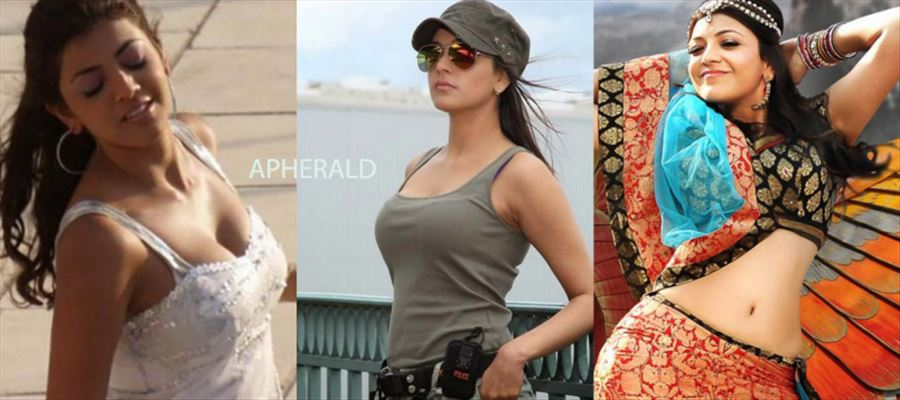 Kajal Aggarwal spotted in a Sports Bra at the Shooting Spot - Photo Proof Inside