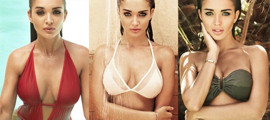 Amy Jackson shows off everything in a Two-Piece Bikini at Ibiba, Spain - See all Hot Photos inside