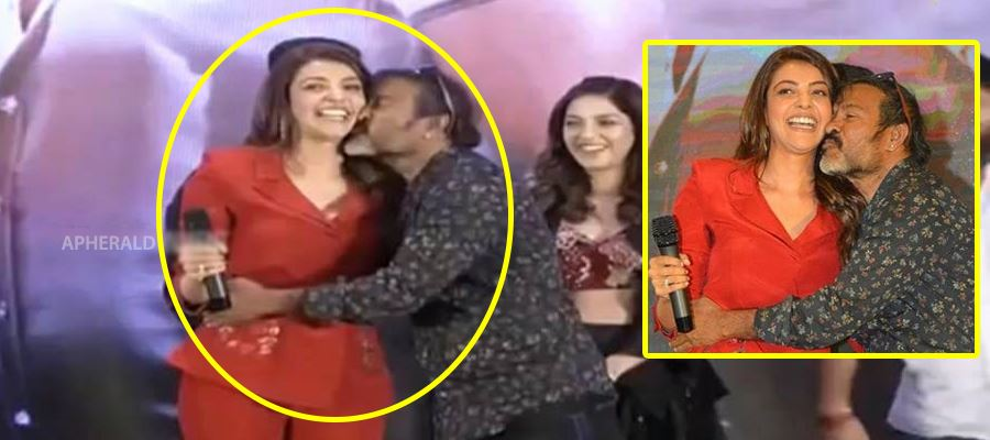 Kajal embarrased with Chota kissing her on stage - She opens to media after a long time