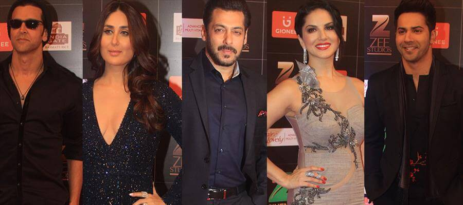 Dignitaries appeared in Zee Cine Awards