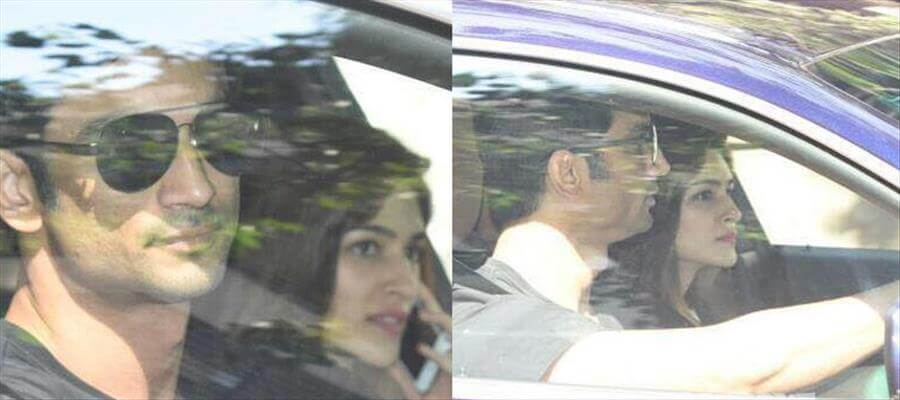 NO BREAK-UP??? Actor TAKES HIS GIRLFRIEND INSIDE CAR!!!