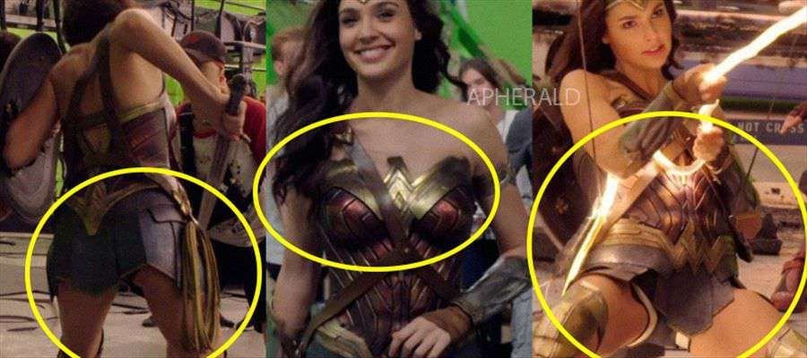 Unseen Photos of Gal Gadot from the sets of 'Wonder Woman 2' aka 'WW 84'