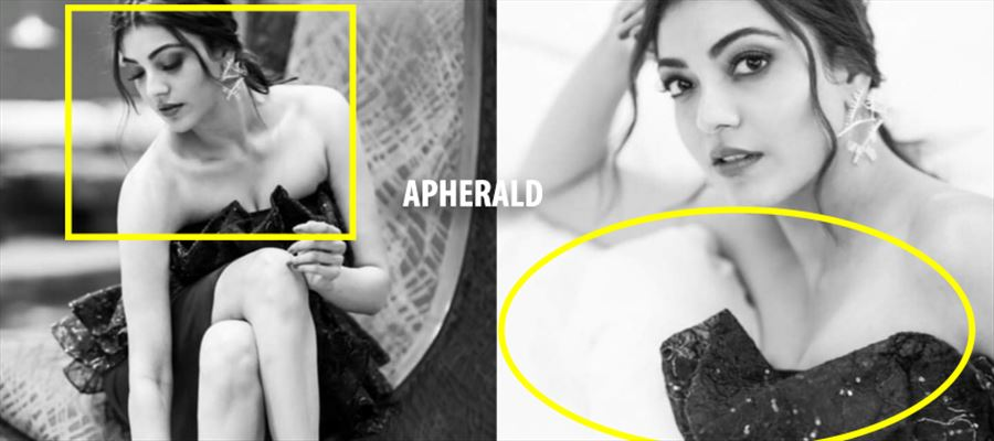 OMG... Why Kajal...? Just Why...? She has 'RUINED' totally