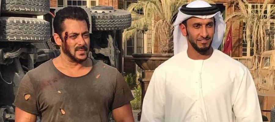 Why Salman Khan bruised on the sets of Tiger Zinda Hai?