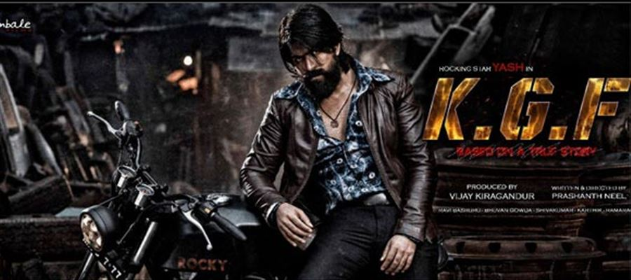 Yash's K.G.F Second Look Poster let out