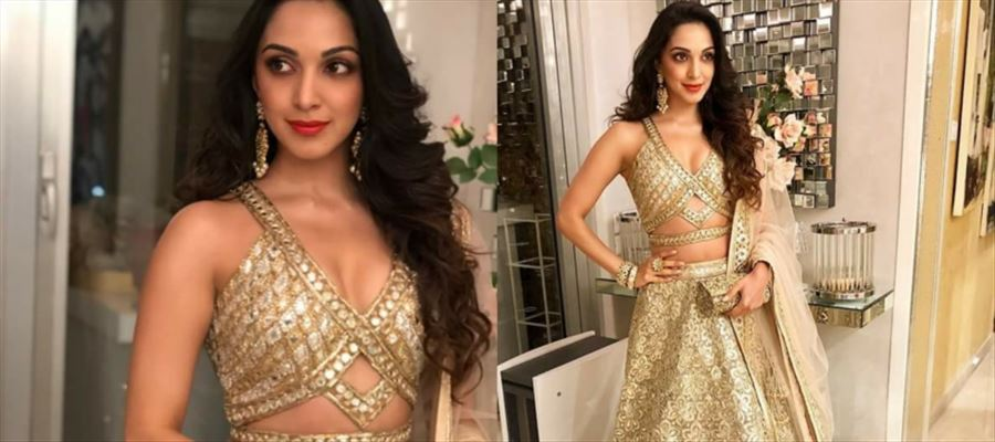 LEAKED - After 'Bharat Ane Nenu', Kiara Advani goes on 'Lust' mode for Ram Charan - Boyapati Srinu movie - View Pics!