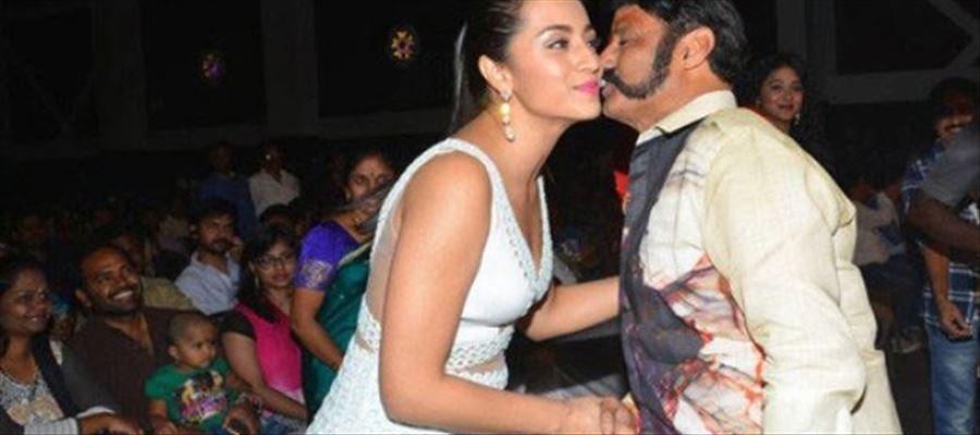 Balayya to pair with the Lucky Trish?
