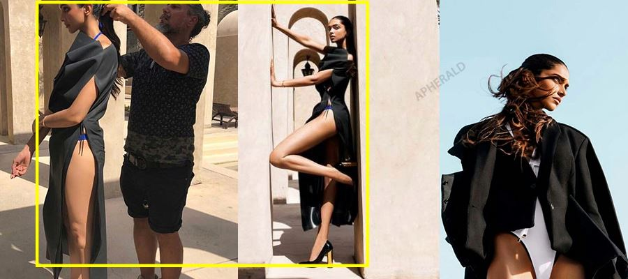 Deepika Padukone exposes her Hot Legs and Thundering Thighs for a Photoshoot - HOT PHOTOS INSIDE