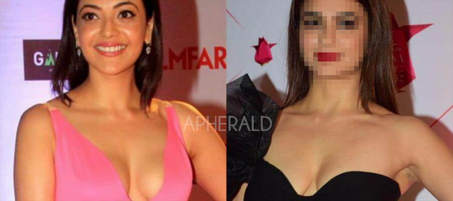 'THIS' Actress follows KAJAL AGGARWAL's 'Deep Neck Cleavage' Trick to get attention