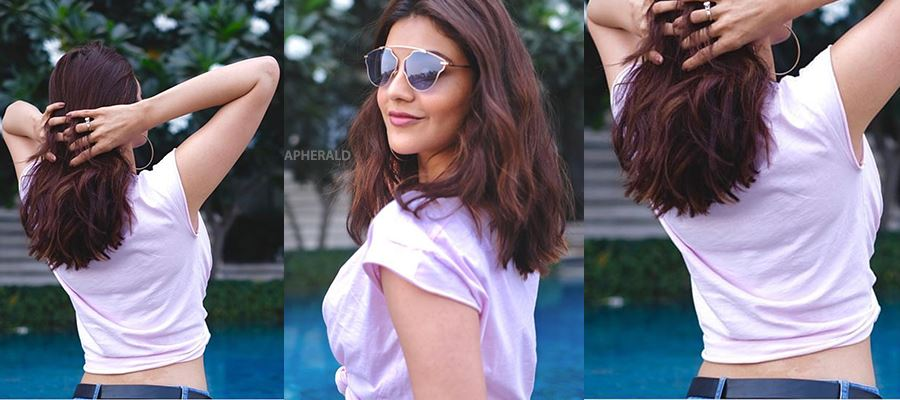 Why Kajal Aggarwal uploads such 'SEXY BACK' Photos on her social media? Desperate to..?? PHOTOS PROOF INSIDE