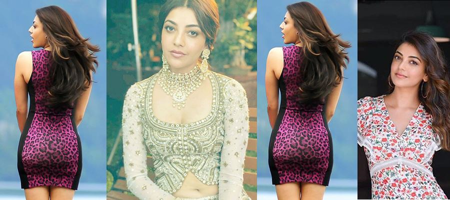 Kajal shows her BACK to 'THAT' HERO ALONE - Here's your Proof