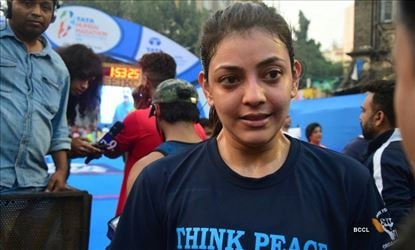 When Kajal sweat, Social media goes gaga - She is doing it again after one year