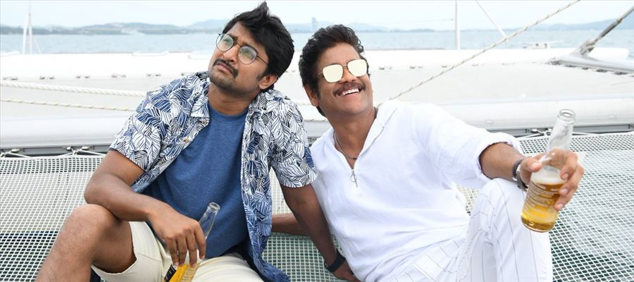 #Devadas - FIRST REPORT - King Akkineni at his best in recent times, Entertaining in Parts