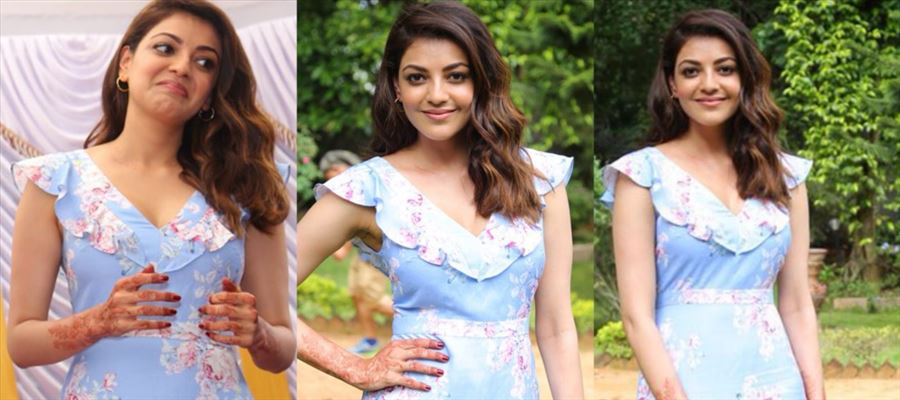 Whoa... Teasing Cleavage Show by Kajal and Nerd Glass Hotness by Tamanna on Same Stage - 19 Photos Inside