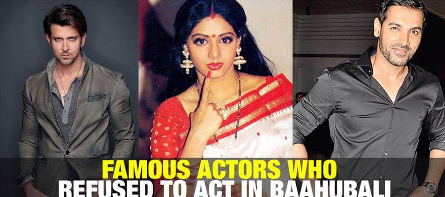 UNLUCKY ACTORS who rejected Baahubali without realizing its potential!!!