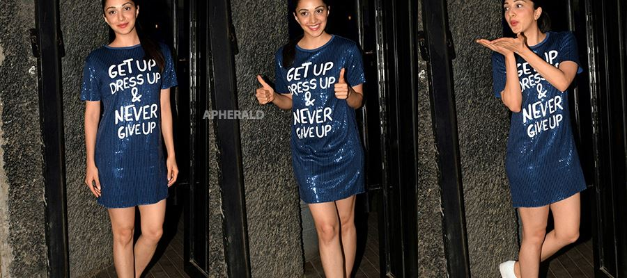 Kiara Advani spotted outside her Hotel in a Sexy costume - Did she forgot to wear her Pants? - 10 Photos Inside