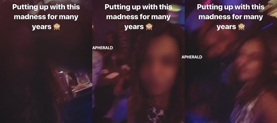 CAUGHT RED HANDED - 19-Year-Old Actress GETTING INTIMATE with Producer Son in a NIGHT PUB