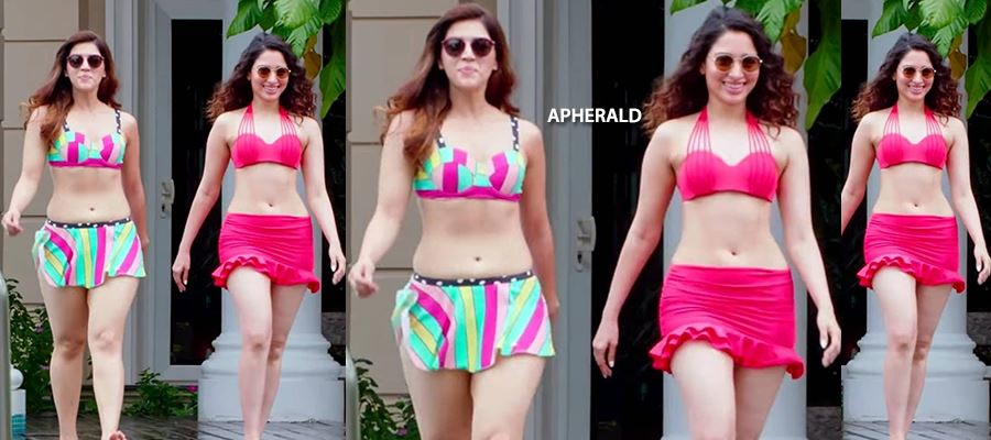 Two Milky White Beauties wear Bikini as they run out of chances - Tamanna did 'THAT' - PHOTO PROOF INSIDE