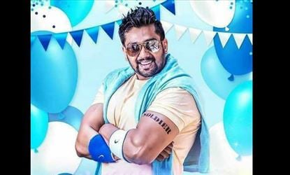 Dhruva Sarja's next first look poster released