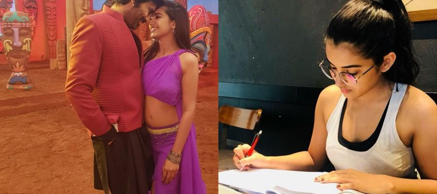 The 19-Year-Old Actress failed to make romance with 50-Year-Old... Now, She Focus on Exams...