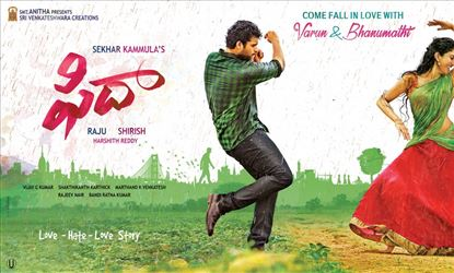 Fidaa Two Days Collections