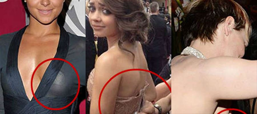 Oops! Wardrobe Malfunction for many Actresses during Golden Globes Award 2018 - Check complete Gallery inside