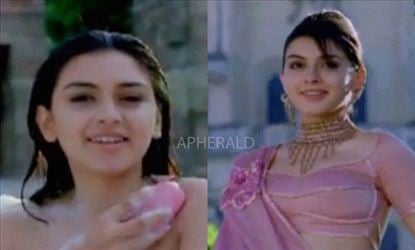 Yes! This is Hansika's First On-Screen Appearance and this is her first TVC