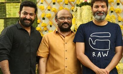 """Do What I Say...!!"" - Junior NTR orders Trivikram Srinivas to add DSP and remove Anirudh"