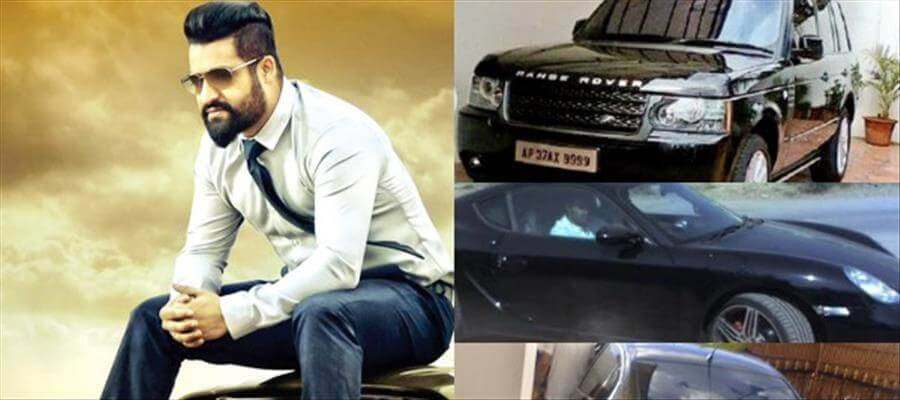 Love Story :: Junior NTR's 6 Cars and '9999' registration number