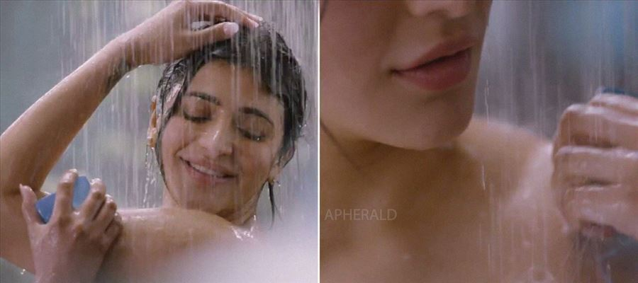 Shruti Haasan in a soap ad