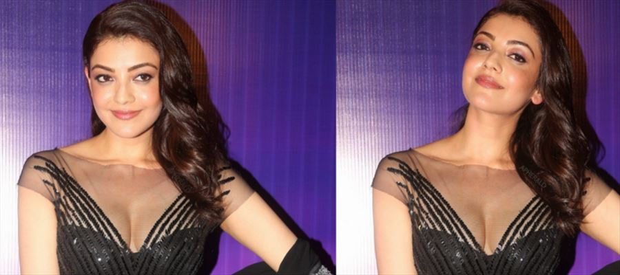 These Latest Photos of Kajal Aggarwal in Black will tease your mood - Photos Inside