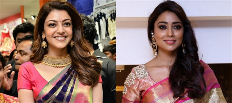 KAJAL AGGARWAL and SHRIYA have started to MAKE MONEY like this once again - 16 Photos inside